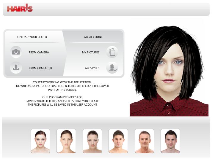 Прическа по форме лица для женщин онлайн бесплатно