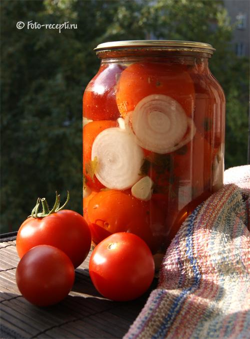 Рецепт томатов пальчики оближешь