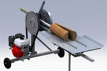 Производство колотых дров