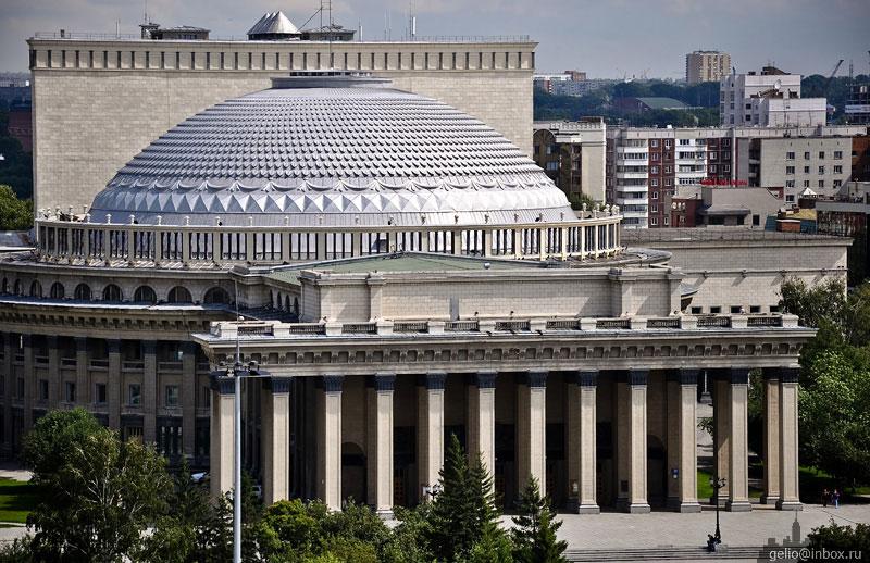 Оперный театр история новосибирск