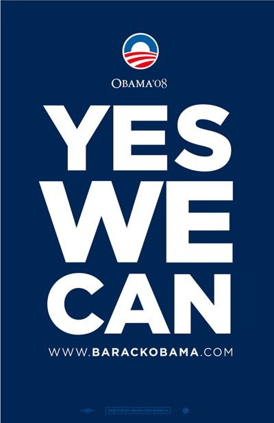 What was barack obamas campaign slogan