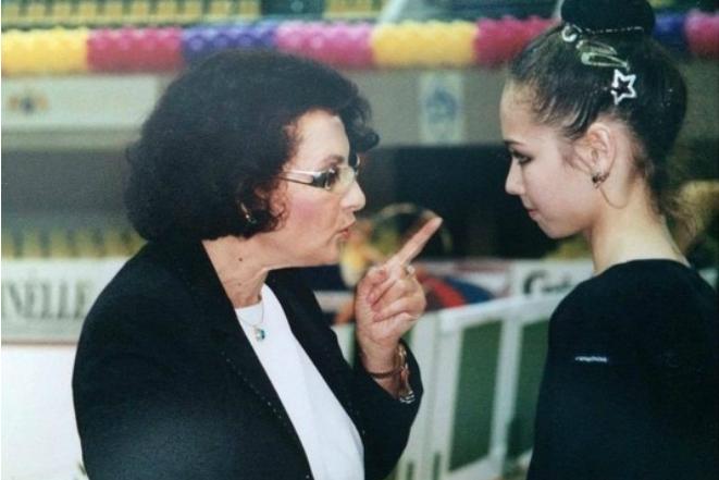 Ляйсан Утяшева с тренером Ириной Винер