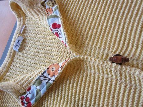 Как переделать свитер в кардиган своими руками