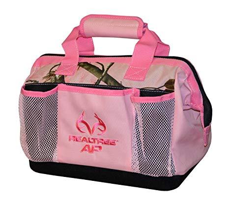 Pink camo tool bag