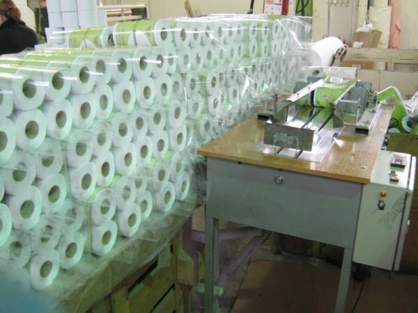 Бумажная основа для туалетной бумаги