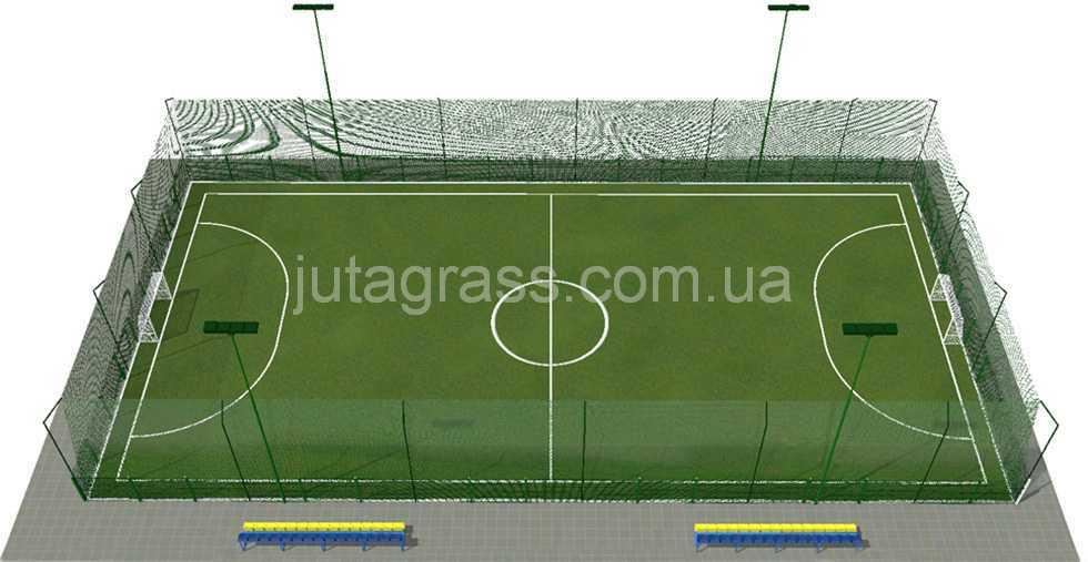Размер мини футбол площадки