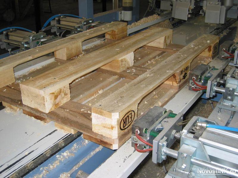 Производство деревянных паллет