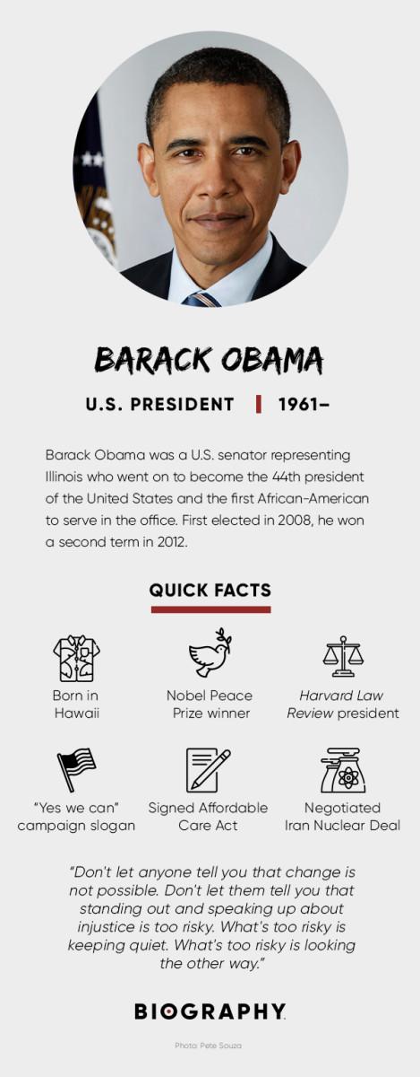 Biografia de barack obama resumen