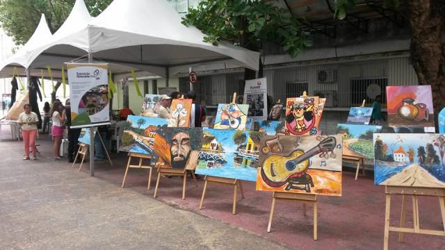 Exposição de Telas dos Internos (CASE Abreu e Lima)