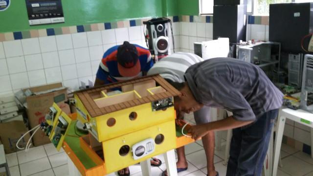 Apoio às Atividades de Robótica (CASE Abreu e Lima)