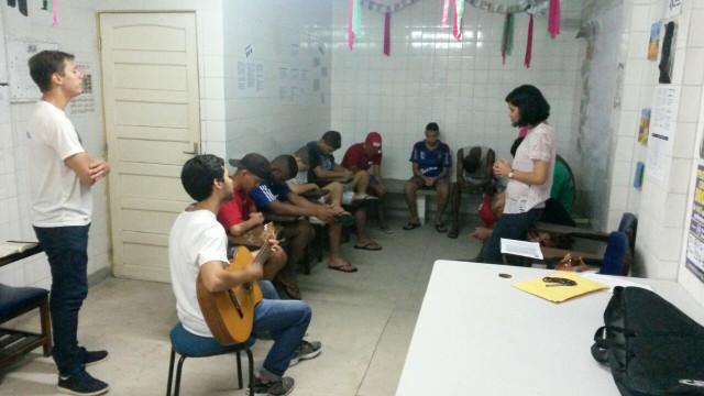Momento de Oração e Formação Espiritual (CASE Abreu e Lima)