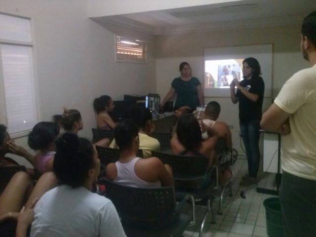 Apresentação do Projeto para as Internas (CASE Santa Luzia)