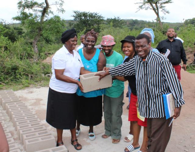 Masakhane Self Help Group from Eshowe KZN(Brickyard)