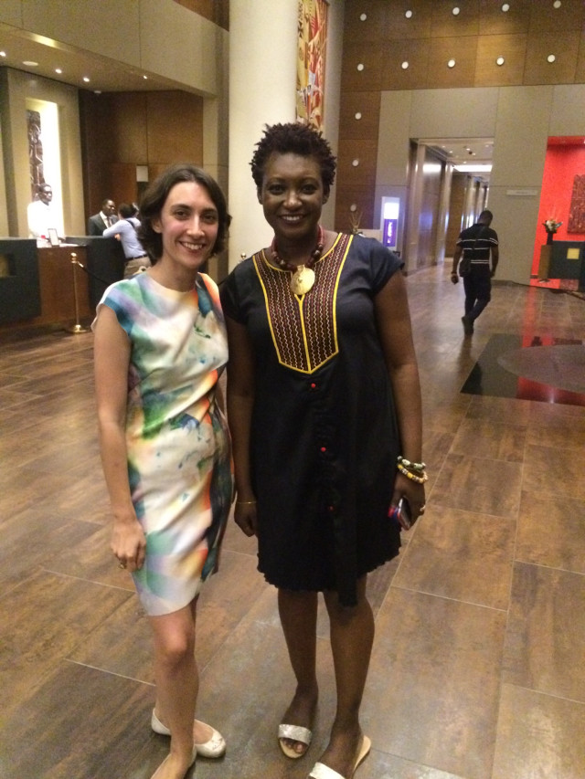 Sarah Wechselberger, Festival Producer and Juliet Asante, Executive Director (2017)
