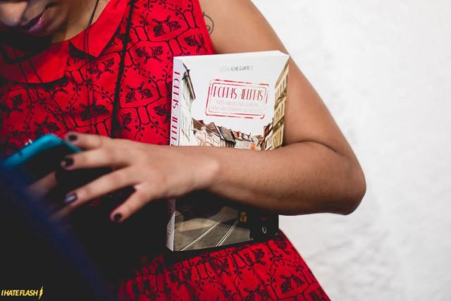 Lançamento do livro de Aline Campbelli, que durante três meses viajou pela Europa sem um só centavo no bolso