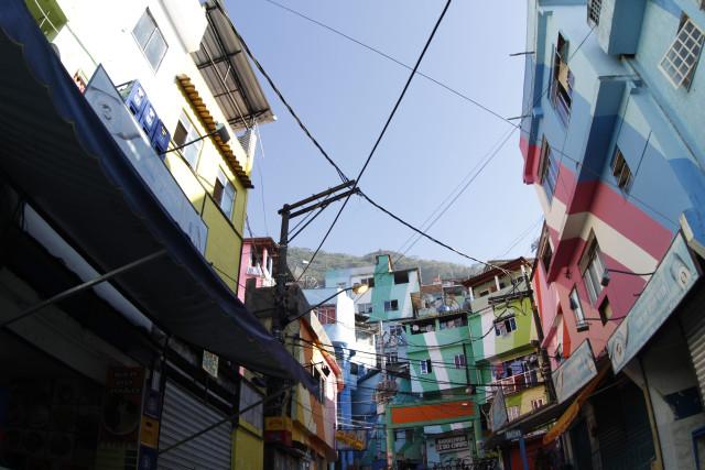 Praça Cantão - Favela Santa Marta - Botafogo
