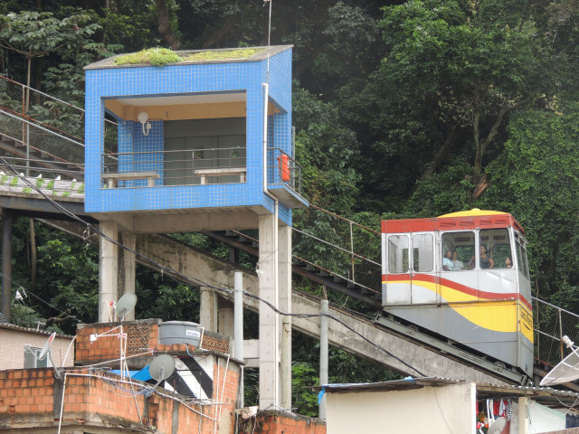 Bondinho do Santa Marta -Botafogo - RJ