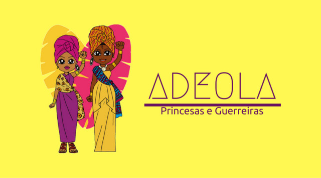 Ilustracção das Princesas Guerreiras