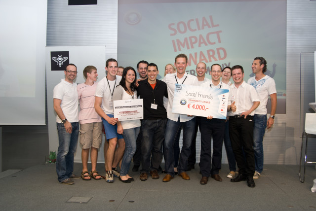 2014: SOCIAL FRIENDS won the austrian Social Impact Award out of 113 submitted projects. Successful projects in the field of social entrepreneurship are awarded.
