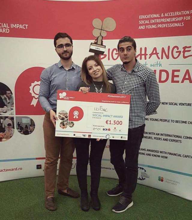 Winning the Social Impact Awards Romania 2017