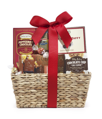 Chocolate Mania Gift Basket