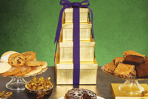 Solid Gold Bakery Tower