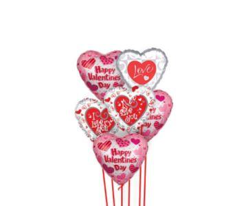 Love My Valentine Balloons
