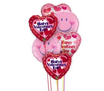 Smile Valentine Balloons