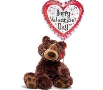 Medium Valentine Bear