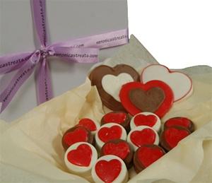 Oreo Cookie Gift Box, Hearts