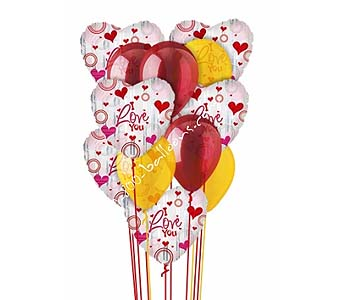 Love Divine Balloon Bouquet