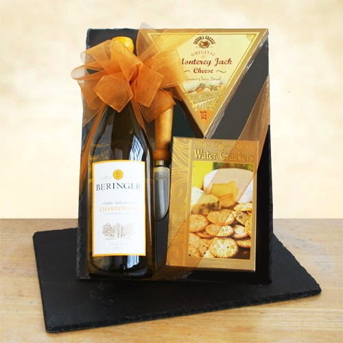 Classic Chardonnay Wine & Cheeseboard