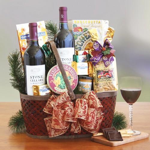Napa Valley Charm Gift Basket