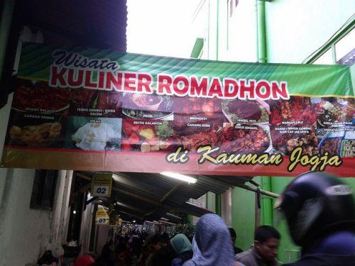 pasar ramadhan kauman jogja