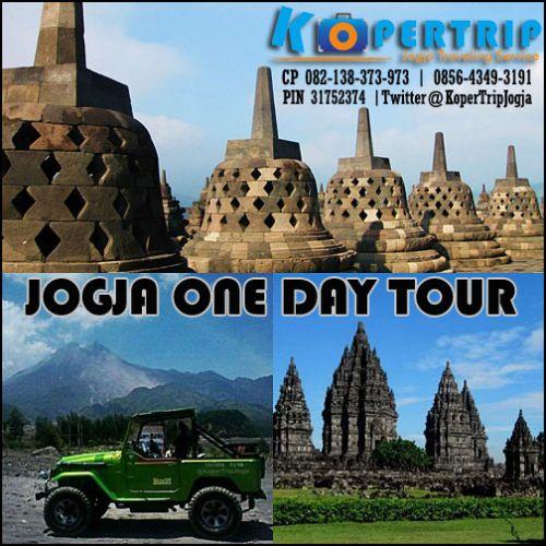 Paket Wisata One Day Tour Jogja