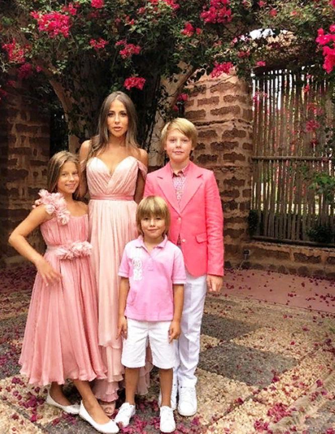 Ольга литвинова и ее дети