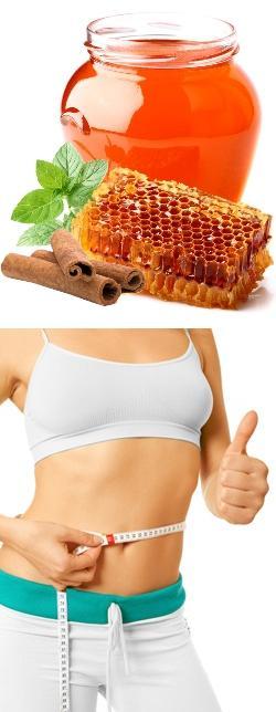 Мед вода и корица для похудения