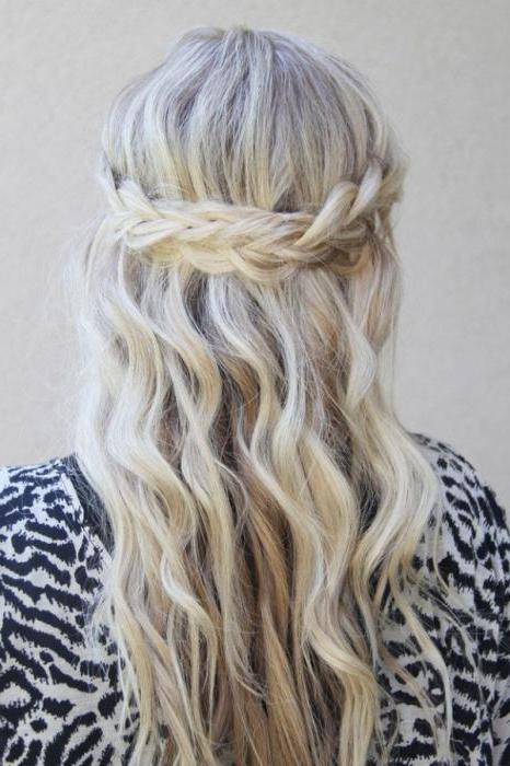 как уложить пушистые волосы