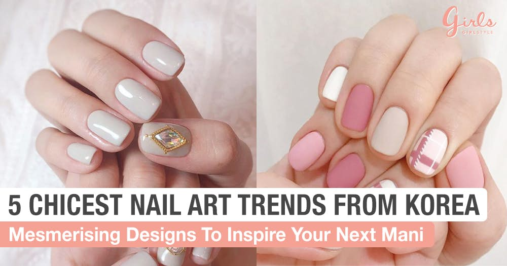 Nails korean
