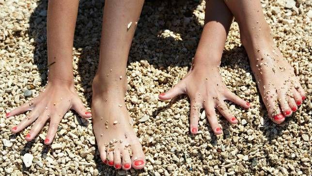 Fingernails grow faster than toenails