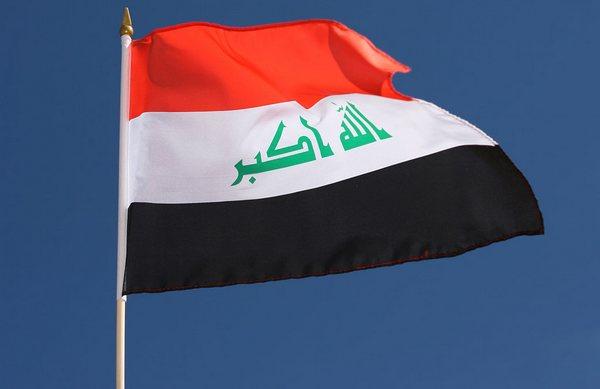 Что написано на флаге ирака