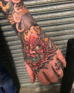 Ryan Usher tattoo