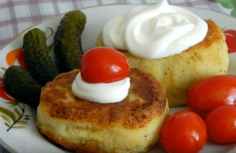 Как приготовить зразы из картофеля с фаршем