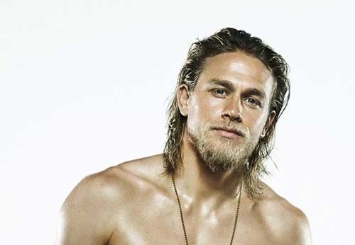 Charlie Hunnam Male Celebs with Long Hair