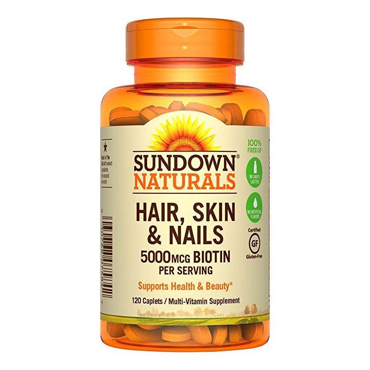 Sundown naturals hair skin nails vitamins reviews