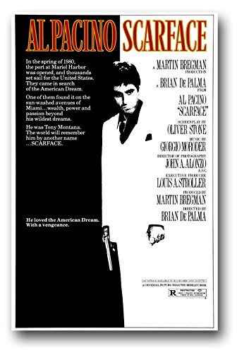Poster scarface-al pacino