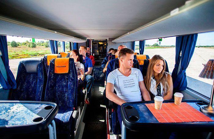 Лучшие места в автобусе дальнего следования