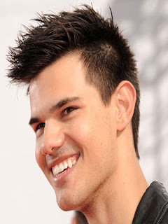 Taylor lautner hairstyle 2012