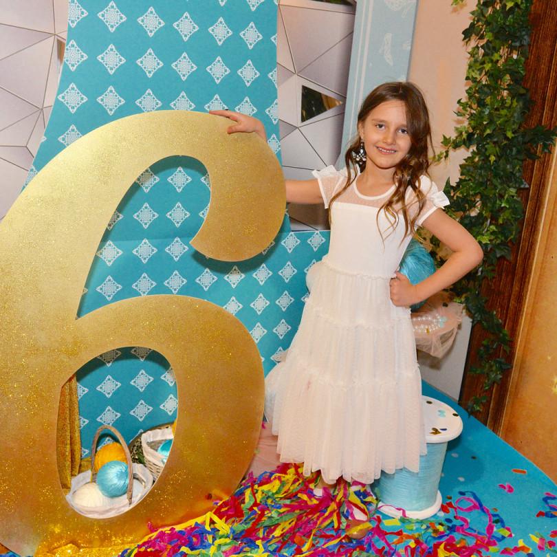 Дочь Кристины Орбакайте на дне рождения