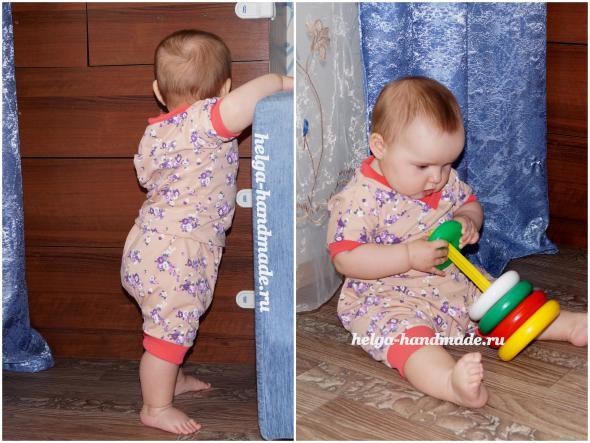 Выкройки одежды для новорожденного